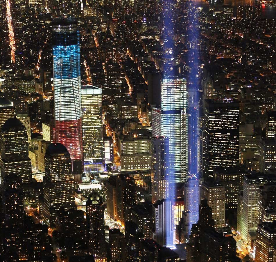 9/11: A tribute in light