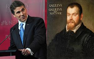 Rick Perry's Galileo Metaphor Is Totally Backwards