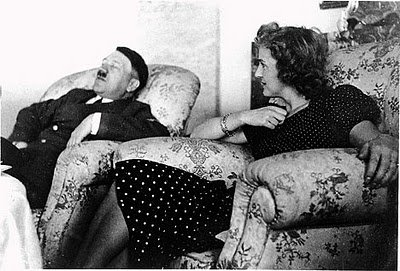 14. Adolph Hitler and Eva Braun