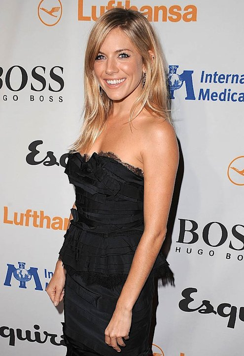 Sienna Miller Medical Corps Evnt