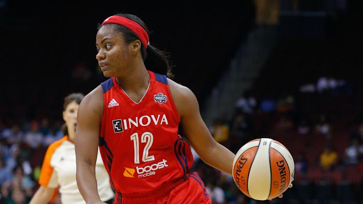 WNBA: Washington Mystics at New York Liberty