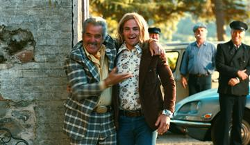 Dennis Farina and Chris Pine in Freestyle Releasing's Bottle Shock