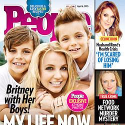 Britney And Her Sons Cover People Magazine