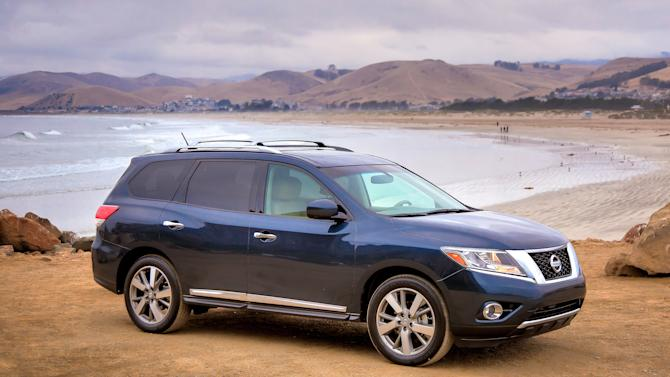 This undated image provided by Nissan shows the 2013 Nissan Pathfinder. (AP Photo/Nissan)