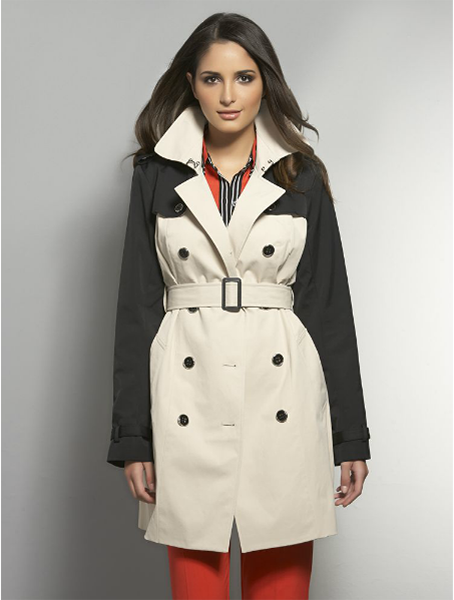 The NY trench - colorblock, $69.99 at nyandcompany.com