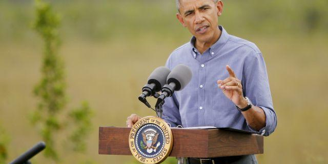 President Obama suggests climate change is larger threat than ISIS?
