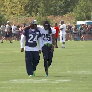 Seattle Seahawks running back Marshawn Lynch ends holdout without new deal