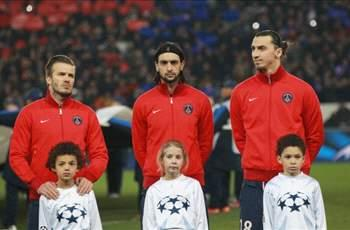 Ibrahimovic happy to live in Beckham's shadow