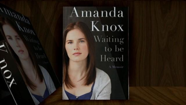 Amanda Knox's 'Waiting to Be Heard' Book Cover