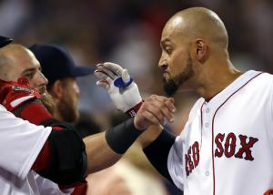 Victorino (2 HRs) powers Boston past Orioles 13-2