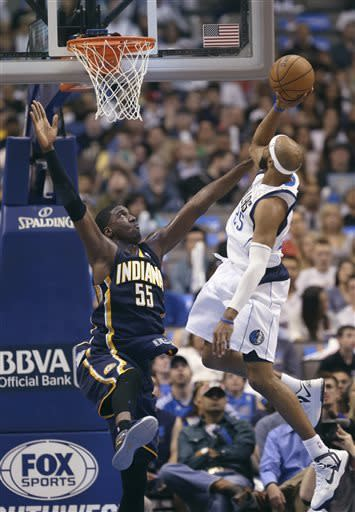 George, Pacers topple Mavericks 103-78