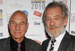 Patrick Stewart, Ian Mckellen | Photo Credits: Dave M. Benett/Getty Images