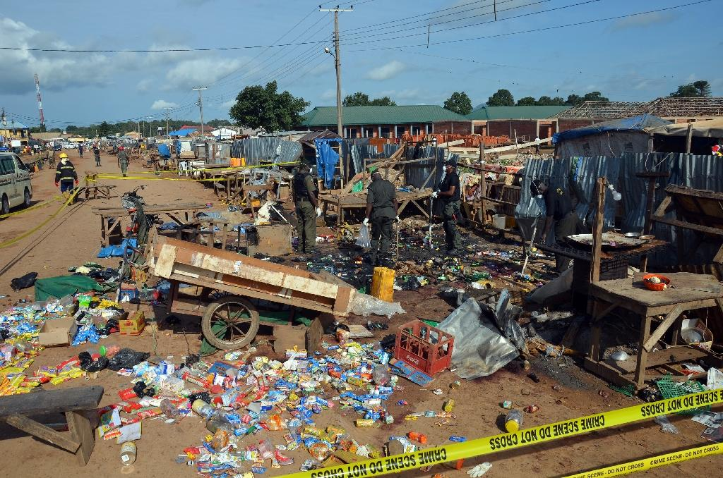 18 killed in blasts blamed on Islamists near Nigerian capital