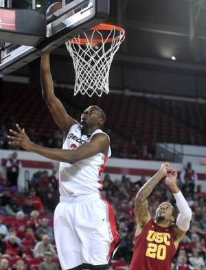 Caldwell-Pope, Georgia defeat Southern Cal 64-56
