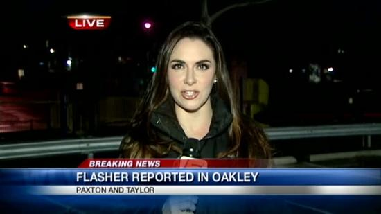 Another flasher reported in Oakley