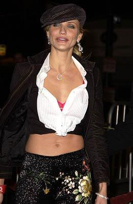 Cameron Diaz at the Hollywood premiere of Vanilla Sky