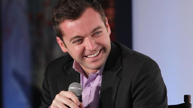 Michael Hastings participates in a discussion on journalism and politics in Washington D.C. last year.