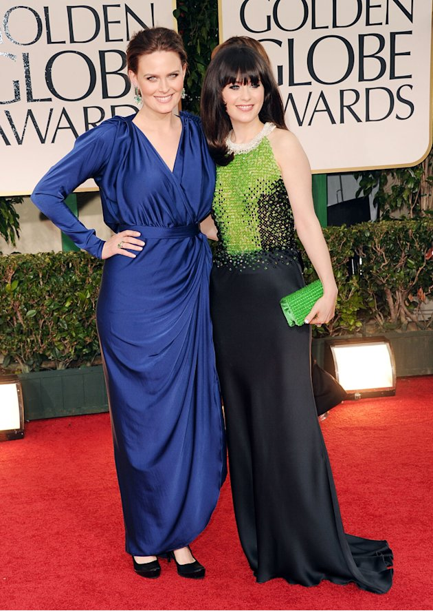 Emily Deschanel and Zooey …