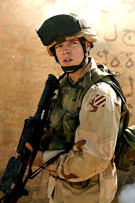 "Josh Henderson as Pfc. Bo Rider ""Over There"" on FX"