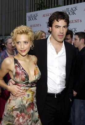 Premiere: Brittany Murphy and Ron Livingston at the New York premiere of Revolution Studio's Little Black Book - 7/21/2004