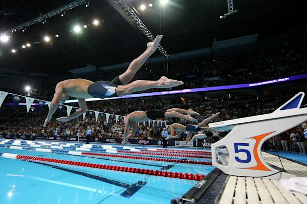 2012 U.S. Olympic Swimming Team Trials - Day 1
