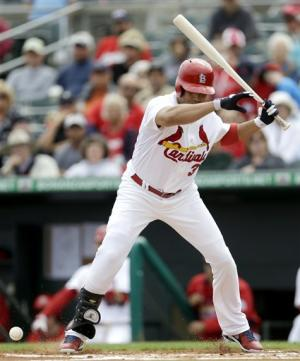 Beltran, Westbrook hurt as Cards beat Miami 8-2