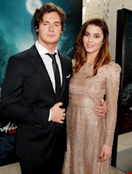 "This image released by Starpix shoes actors Benjamin Walker, left, and Mary Elizabeth Winstead at the premiere of Twentieth Century Fox film, ""Abraham Lincoln: Vampire Hunter,"" Monday, June 18, 2012 in New York. The film, produced by Tim Burton and directed by Timur Bekmambetov, opens nationwide on June 22. (AP Photo/Starpix, Dave Allocca)"