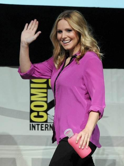 Kristen Bell speaks onstage at the 'Veronica Mars' special video presentation and Q&A during Comic-Con International 2013 at San Diego Convention Center on July 19, 2013 in San Diego, Calif. -- Getty Images