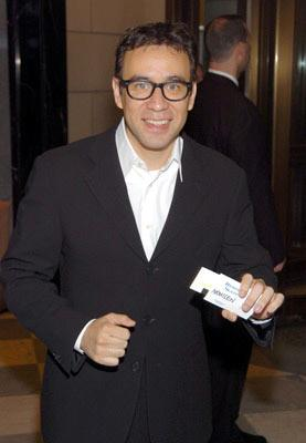 Fred Armisen at the New York premiere of Dreamworks' Anchorman