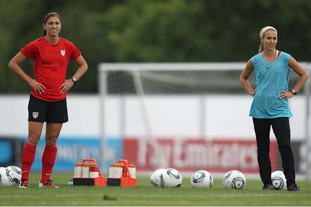 USA Training Session - FIFA Women's World Cup 2011