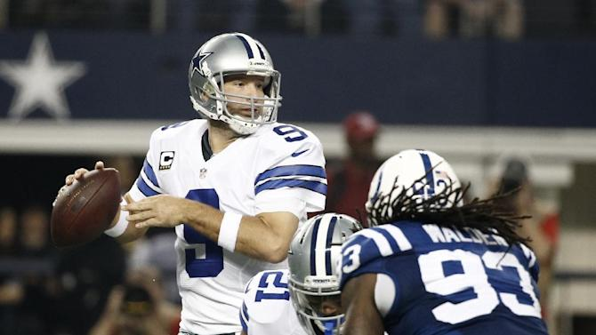 Romo, Cowboys not backing off against Redskins