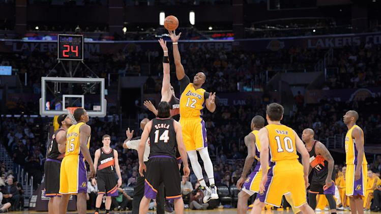NBA: Phoenix Suns at Los Angeles Lakers