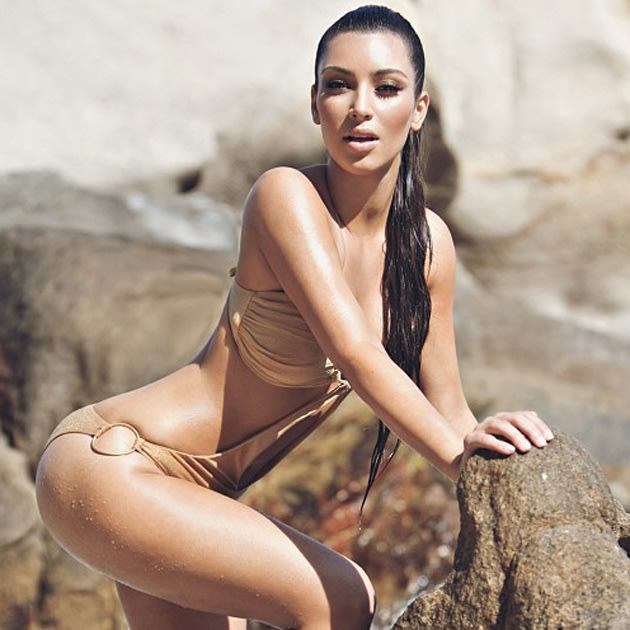 Kim Kardashian Finally Stops Sharing Bikini S Oh Wait She