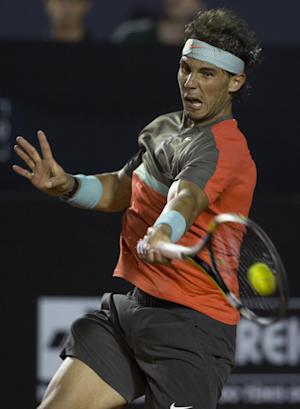 Nadal hangs on to reach Rio final with Dolgopolov
