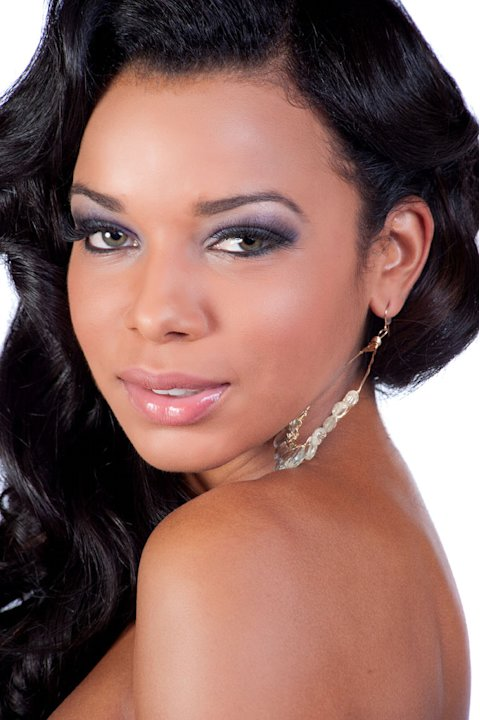 Miss U.S. Virgin Islands 2011, Alexandrya Evans, competes for the title of Miss Universe 2011 during the &quot;60th Annual Miss Universe&quot; competition from So Paulo, Brazil. 