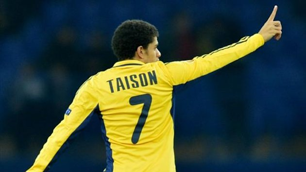 Taison, who has moved from Metalist to Shakhtar (AFP)