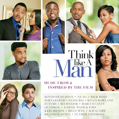 "In this CD cover image released by Epic Records, the soundtrack, for ""Think Like a Man,"" is shown. (AP Photo/Epic Records)"
