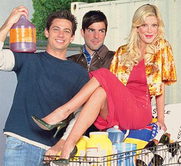 "James Carpinello, Zachary Quinto, Tori Spelling VH-1's ""So Notorious"""