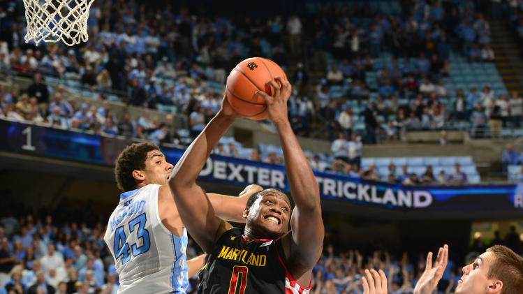 NCAA Basketball: Maryland at North Carolina