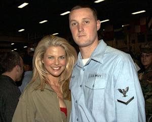 Christine Brinkley with Personnelman 3rd Class Keith Bernauer