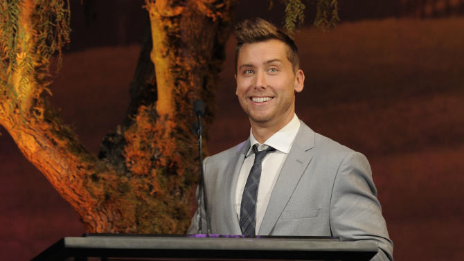 IMAGE DISTRIBUTED FOR  ENVIRONMENTAL MEDIA ASSOCIATION - Lance Bass is seen at the 22nd Annual Environmental Media Awards on Saturday Sept. 29, 2012, at Warner Bros. Studios in Burbank, Calif. (Photo by Chris Pizzello/Invision for Environmental Media Association/AP Images)