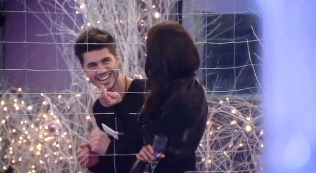 Sam Robertson was chatting Lacey Banghard up