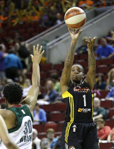 Without Diggins, Shock handle Storm 86-59