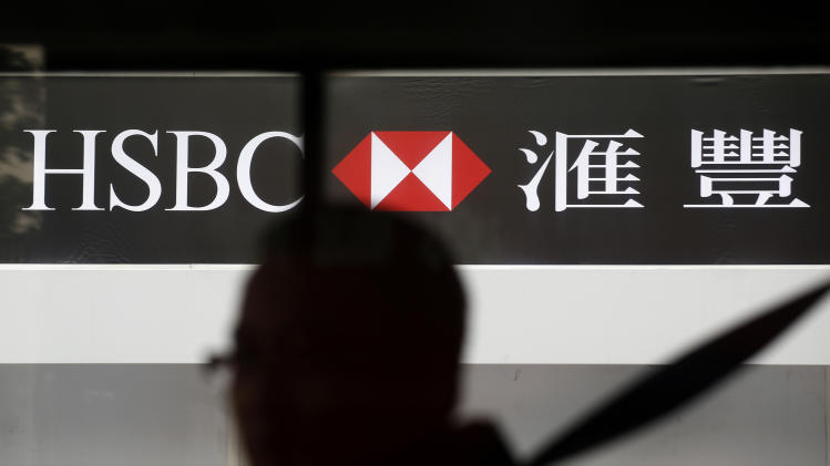 HSBC bank says 1st half profits at $10.3 billion