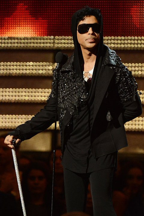 The 55th Annual GRAMMY Awards - Show: Prince