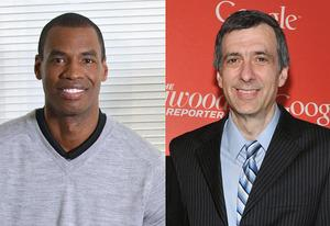 Jason Collin, Howard Kurtz | Photo Credits: Eric McCandless/ABC/ Getty Images;  Mike Coppola/Getty Images