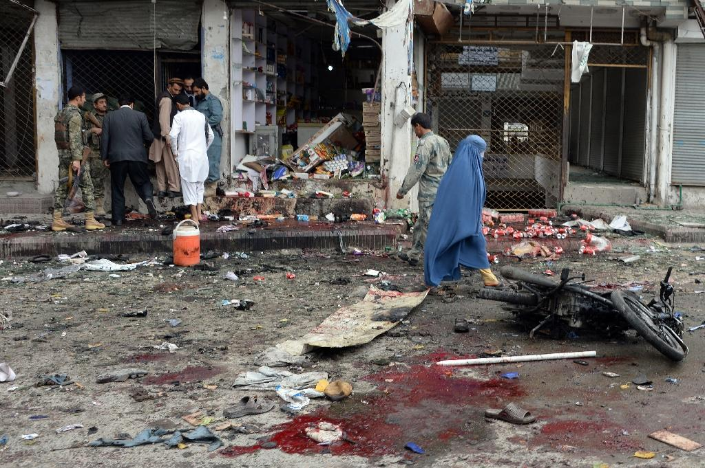 IS claims deadly Afghan suicide attack: President Ghani