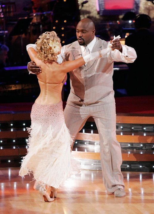 Kym Johnson and Warren Sapp …