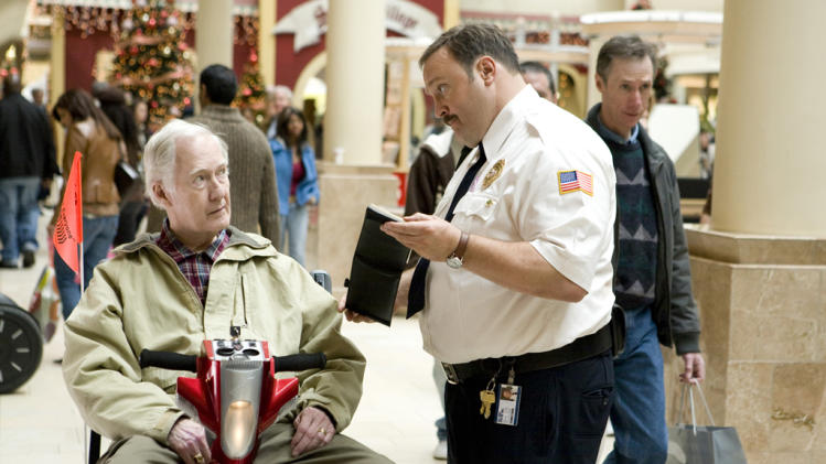 Bernie McInerney Kevin James Paul Blart: Mall Cop Production Stills Columbia 2009