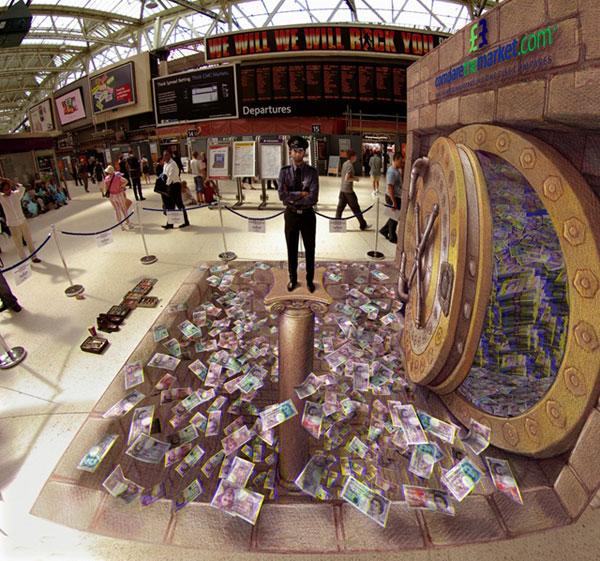 'The Moneypit' by Kurt Wenner